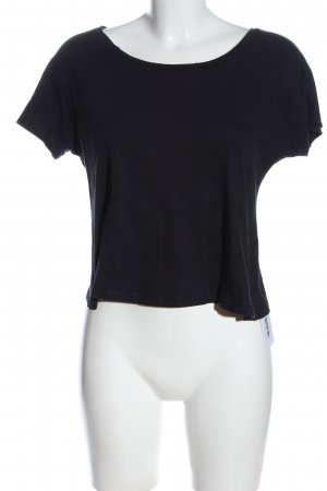 Atmosphere Cropped Shirt black casual look