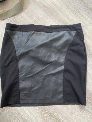 Atmosphere Jupe crayon noir tissu mixte