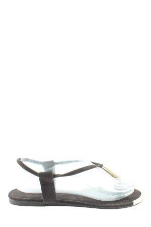 Atmosphere Dianette-Sandalen braun Casual-Look