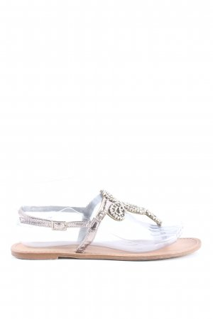 Atmosphere Sandalias Dianette color plata look casual