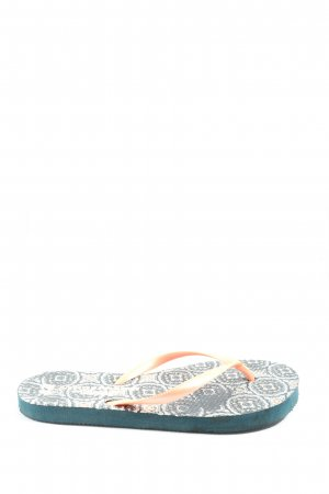 Atmosphere Flip-Flop Sandals mixed pattern casual look