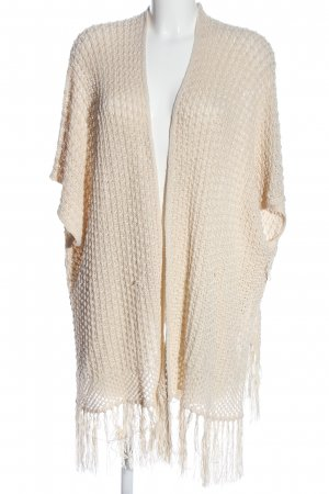 Atmosphere Fransenweste creme Casual-Look