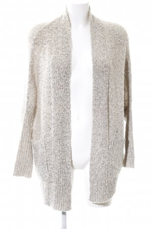 Atmosphere Coarse Knitted Jacket natural white flecked casual look