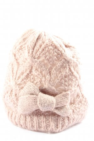 Atmosphere Crochet Cap cream casual look