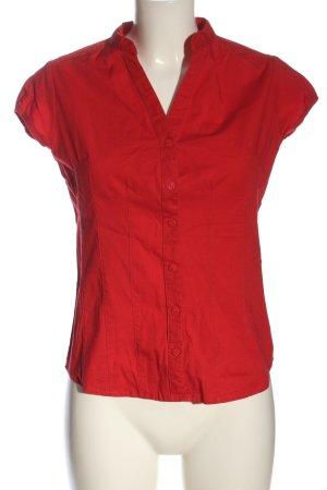 Atmosphere Blusa-camisa rojo look casual