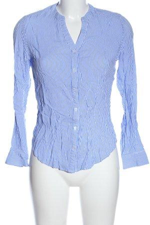 Atmosphere Hemd-Bluse blau-weiß Streifenmuster Casual-Look