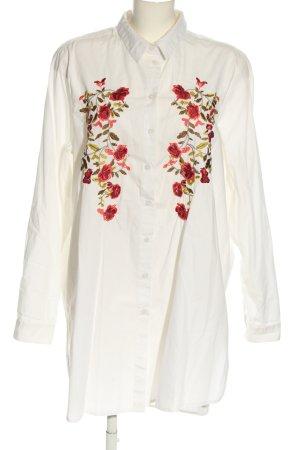 Atmosphere Koszulowa sukienka biały W stylu casual