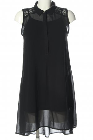 Atmosphere Robe chemise noir style d'affaires
