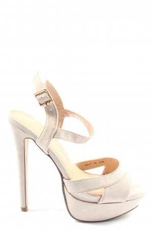 Atmosphere High Heel Sandaletten wollweiß Elegant