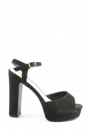 Atmosphere High Heel Sandaletten schwarz Casual-Look