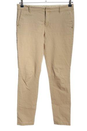 Atmosphere Pantalone a vita alta bianco sporco stile casual