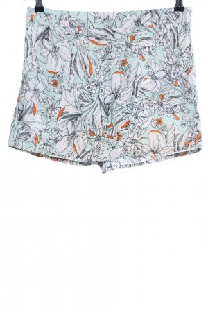 Atmosphere High-Waist-Shorts Blumenmuster Casual-Look