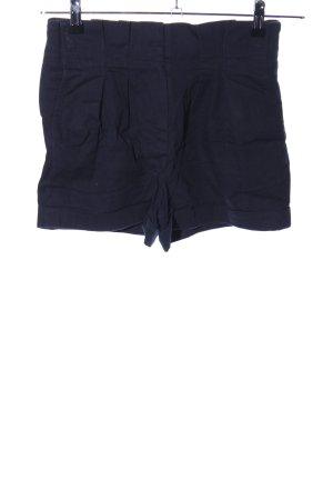 Atmosphere High-Waist-Shorts schwarz Business-Look
