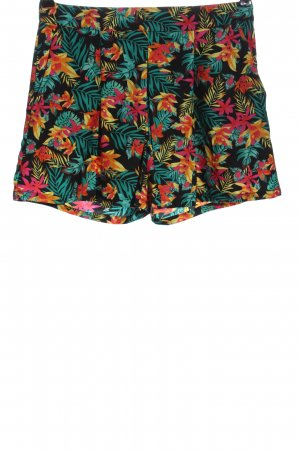 Atmosphere High-Waist-Shorts Allover-Druck Casual-Look