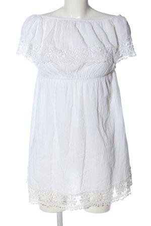 Atmosphere Robe Hippie blanc style décontracté
