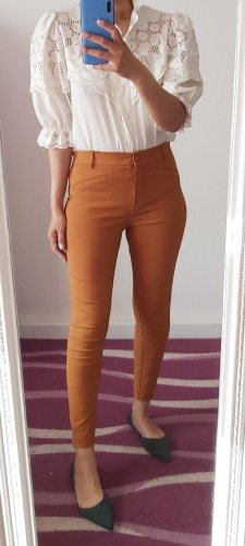 Atmosphere Pantalon cigarette orange foncé