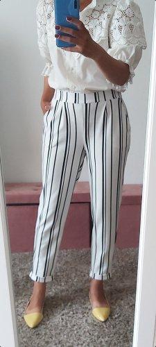 Atmosphere Pantalon 7/8 blanc-noir