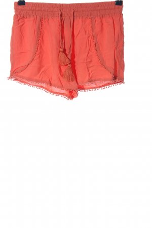 Atmosphere Hot pants rosso stile casual