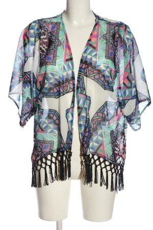 Atmosphere Kimono imprimé allover élégant