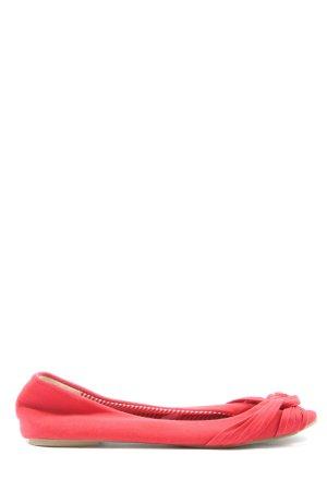 Atmosphere Klassische Ballerinas rot Casual-Look