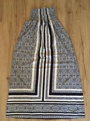 Atmosphere Midi Dress natural white-dark blue