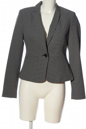 Atmosphere Kurz-Blazer schwarz-hellgrau Business-Look