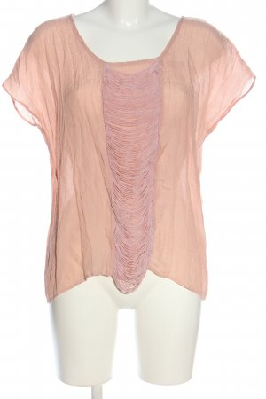 Atmosphere Kurzarm-Bluse nude Casual-Look