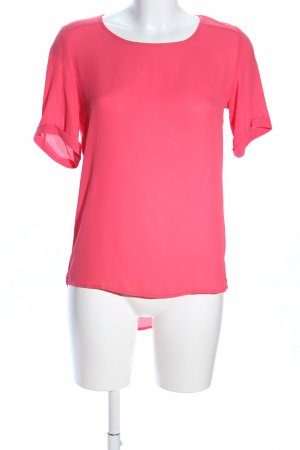 Atmosphere Kurzarm-Bluse pink Casual-Look