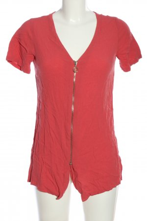Atmosphere Kurzarm-Bluse rot Casual-Look