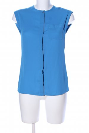 Atmosphere Kurzarm-Bluse blau Business-Look