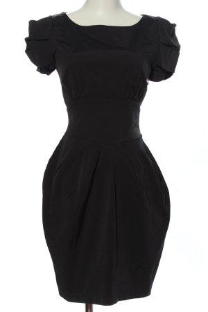 Atmosphere Kurzarmkleid schwarz Elegant