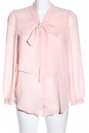 Atmosphere Blouse met lange mouwen roze zakelijke stijl