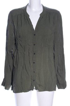 Atmosphere Langarm-Bluse khaki Business-Look