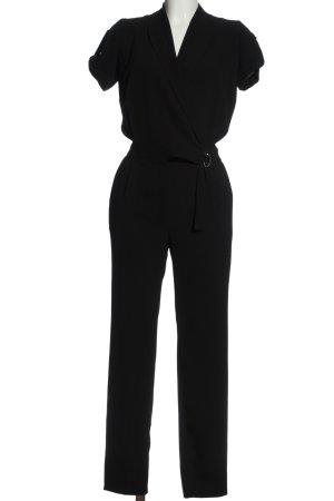 Atmosphere Langer Jumpsuit schwarz Elegant