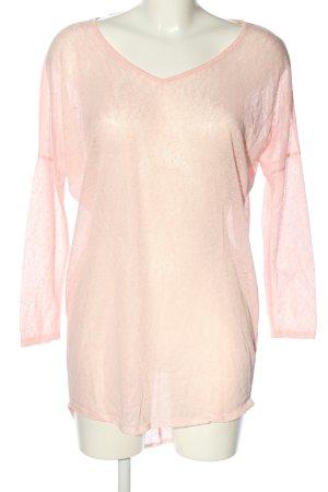 Atmosphere Longpullover pink meliert Casual-Look