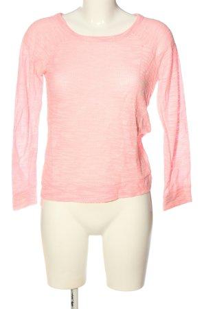 Atmosphere Longsleeve pink-creme meliert Casual-Look
