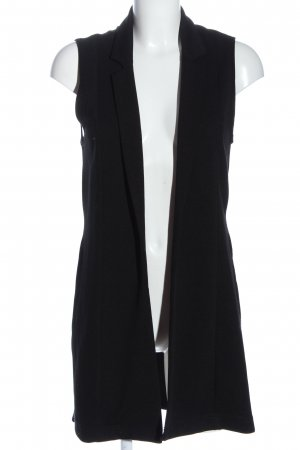 Atmosphere Long Knitted Vest black casual look