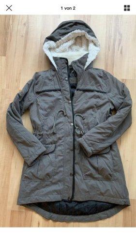 Atmosphere Hooded Coat grey