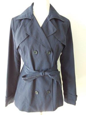 Atmosphere Pea Coat dark blue polyester
