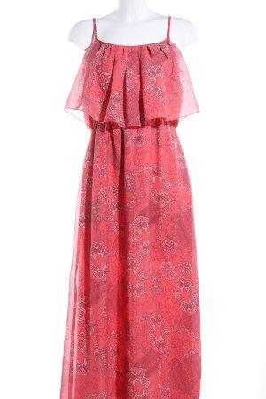 Atmosphere Maxi-jurk rood volledige print casual uitstraling