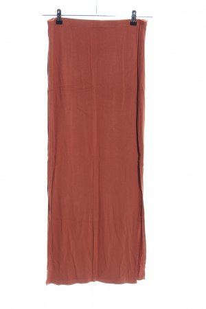 Atmosphere Falda larga marrón look casual