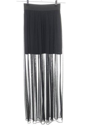 Atmosphere Maxi Skirt black elegant