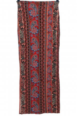 Atmosphere Maxi Skirt mixed pattern casual look