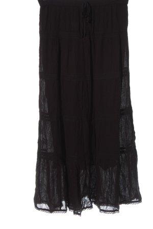 Atmosphere Falda larga negro look casual