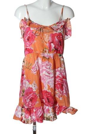 Atmosphere Robe courte motif de fleur style décontracté