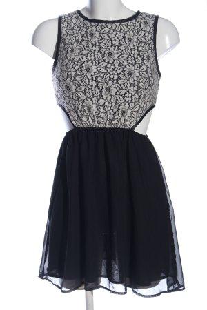 Atmosphere Minikleid schwarz-weiß Elegant