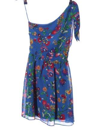 Atmosphere One-Shoulder-Kleid Allover-Druck Casual-Look