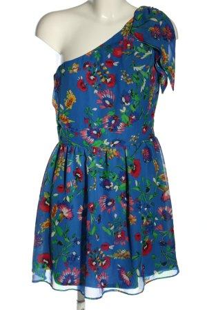 Atmosphere One-Shoulder-Kleid Blumenmuster Casual-Look