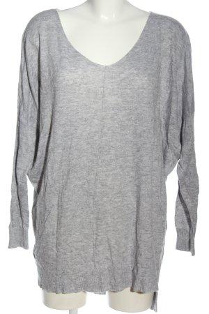 Atmosphere Sweter oversize jasnoszary Melanżowy W stylu casual