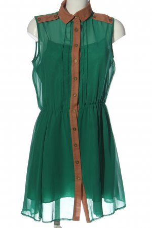 Atmosphere Petticoat Dress green-light orange casual look